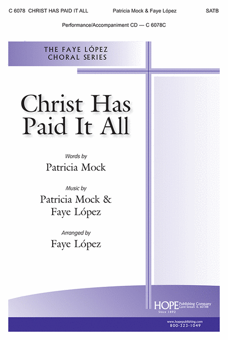 Christ Has Paid It All