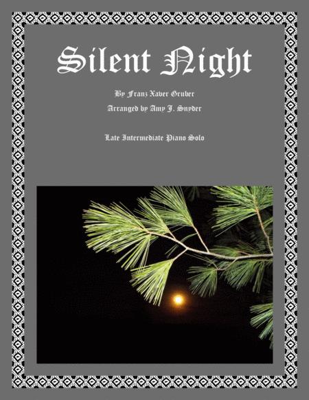Silent Night-piano solo