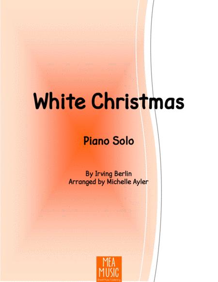 White Christmas Piano Solo