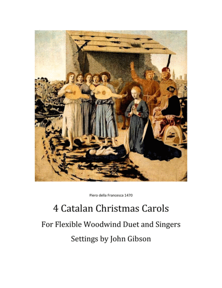 4 Catalan Christmas Carols for Flexible Woodwind Duet