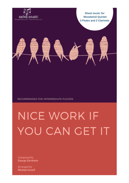 nice work if you can get Nice work if you can get it may refer to: nice work if you can get it (song) , a 1937 popular standard by george and ira gershwin nice work if you can get it.