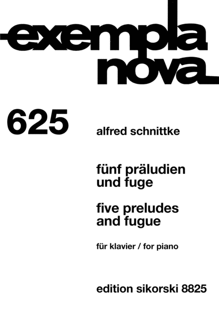 Five Preludes and Fugue