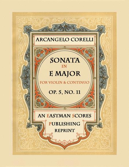 Sonata, Op.5, No. 11
