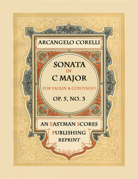 Sonata, Op.5, No. 3