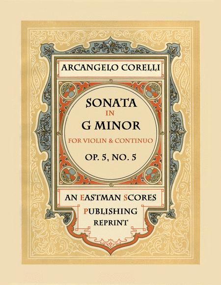 Sonata, Op.5, No. 5