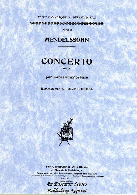 Concerto in e minor, Op.64