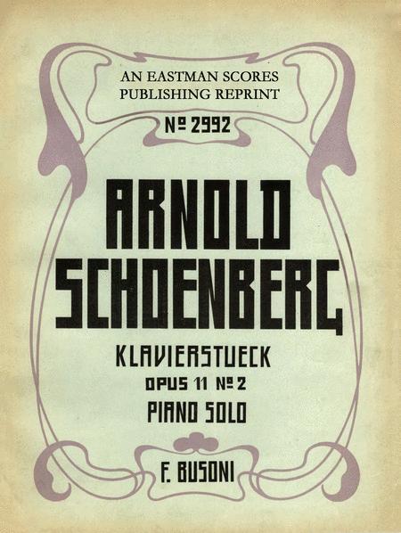 Klavierstuck Op. 11, No. 2