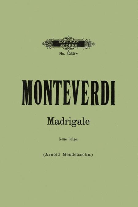 12 funfstimmige Madrigale / fur den Vortrag bearbeitet von Arnold Mendelssohn ; deutsche Ubersetzung vom Herausgeber.