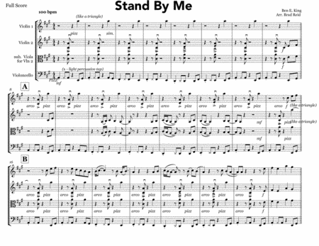 Stand By Me - string trio