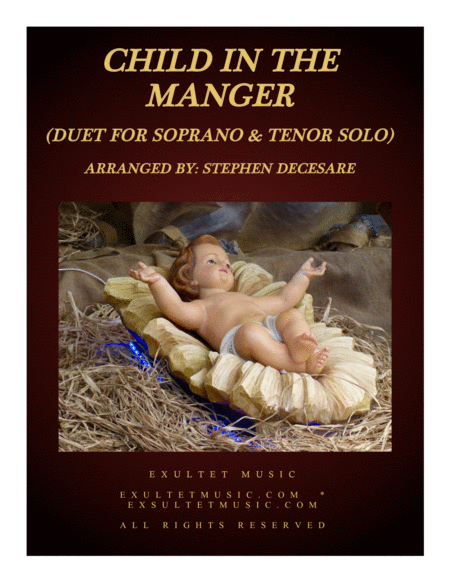 Child In The Manger (Duet for Soprano and Tenor Solo)