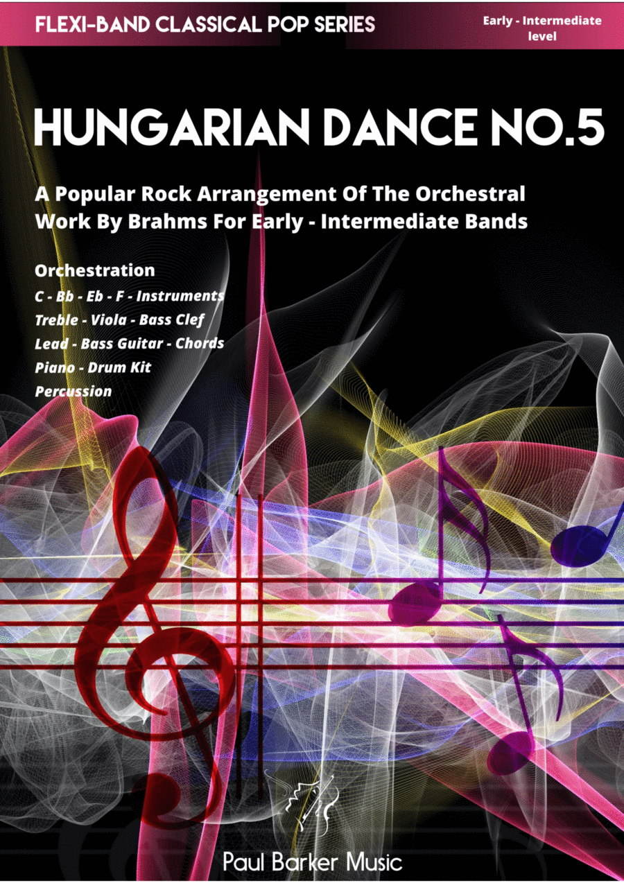 Hungarian Dance No: 5 (Flexi-Band Score and Parts)