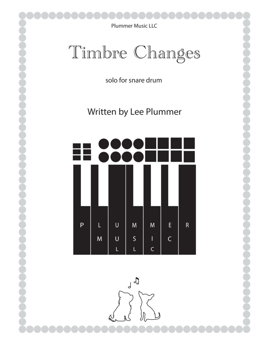 Timbre Changes-For Concert Snare Drum