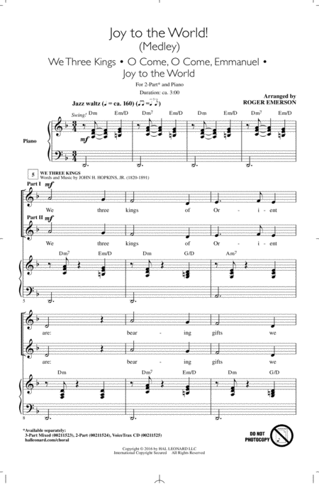 Joy To The World! (Medley)