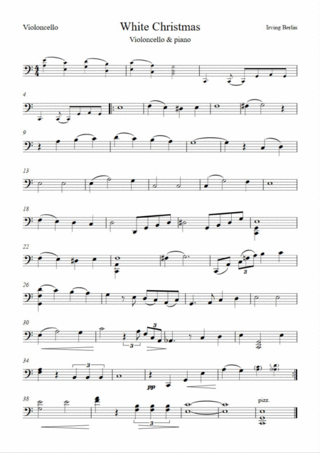 White Christmas by Berlin (Cello & Piano)