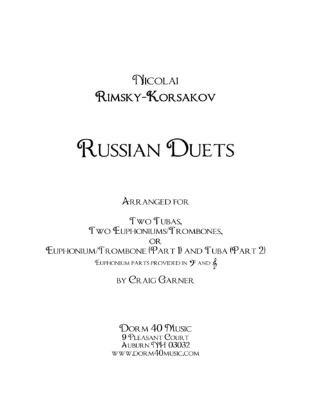 Russian Duets (for low brass)