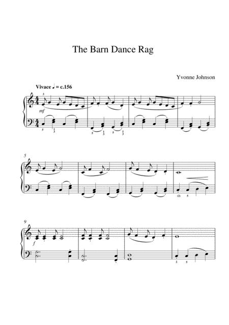 The Barn Dance Rag