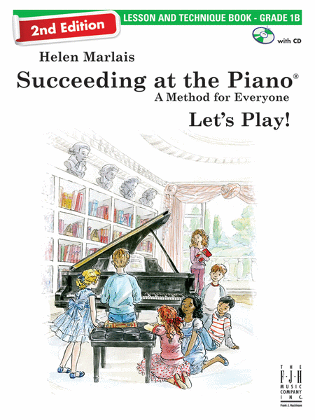 Succeeding at the Piano, Lesson & Technique Book (with CD) 1B