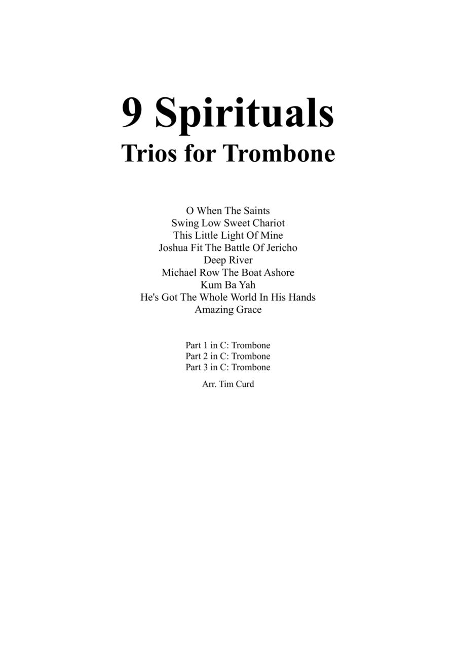 9 Spirituals, Trios For Trombone