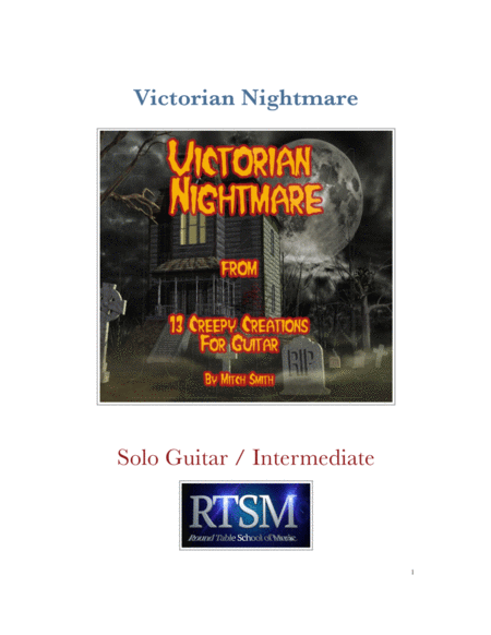 Victorian Nightmare from 13 creepy Creations for Guitar