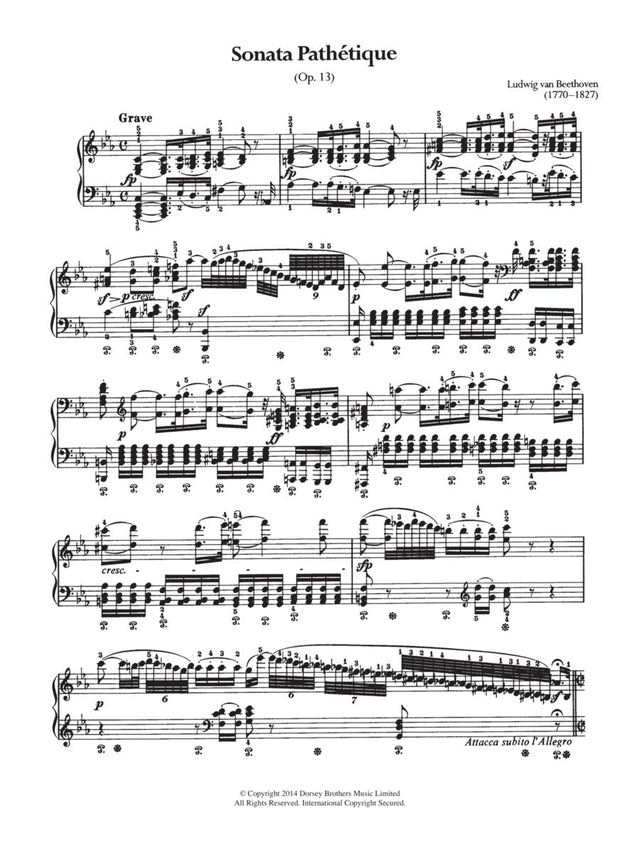 Sonata Pathetique, Op.13