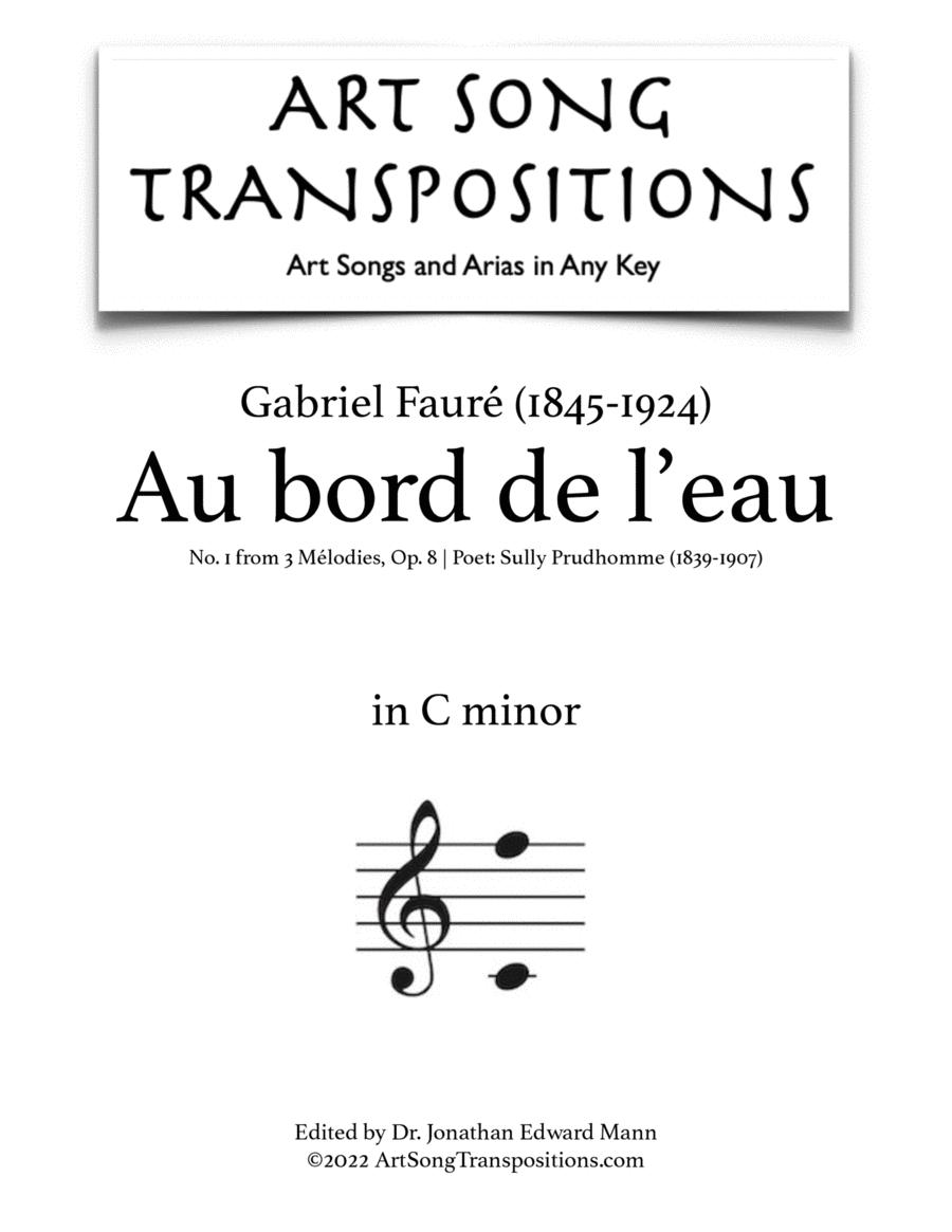 Au bord de l'eau, Op. 8 no. 1 (C minor)
