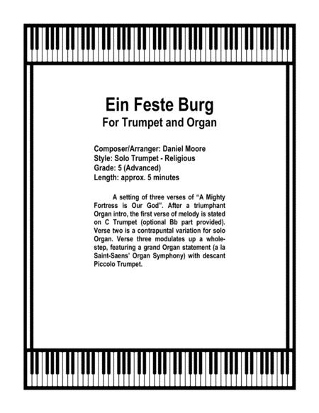 Ein Feste Burg - for Solo Trumpet and Organ