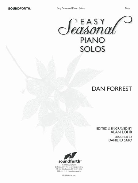 Easy Seasonal Piano Solos