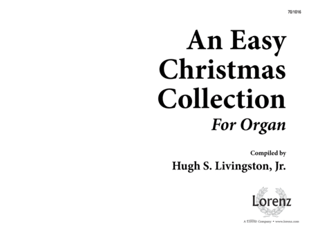 An Easy Christmas Collection for Organ