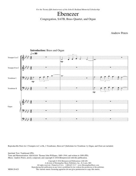 A Festive Hymn Setting on Ebenezer