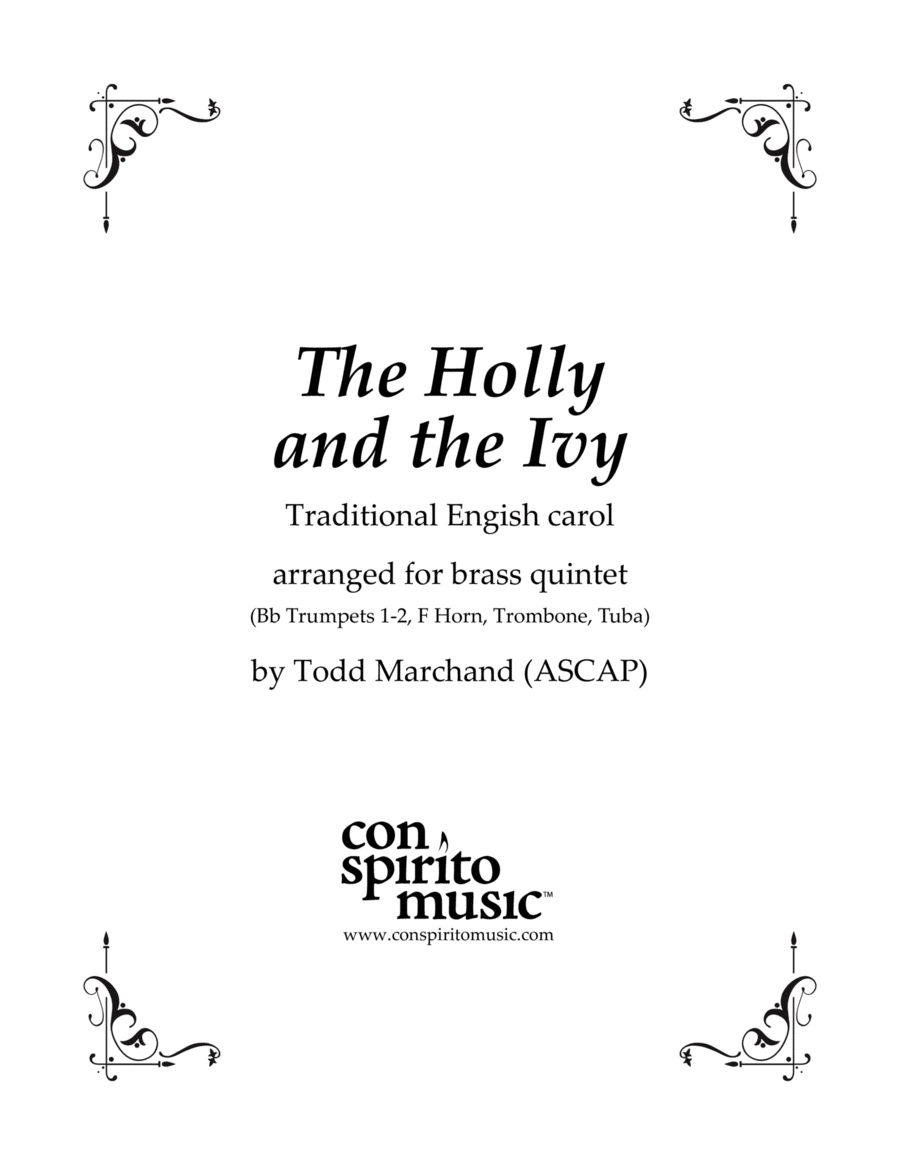 The Holly and the Ivy - traditional English carol