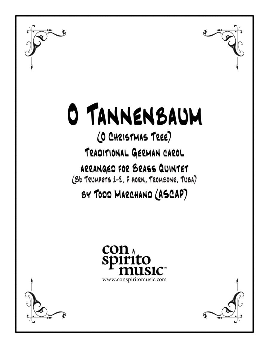 O Tannenbaum (O Christmas Tree) — brass quintet