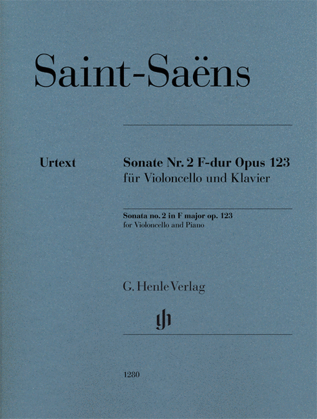Sonata for Violoncello and Piano No. 2 in F Major, Op. 123