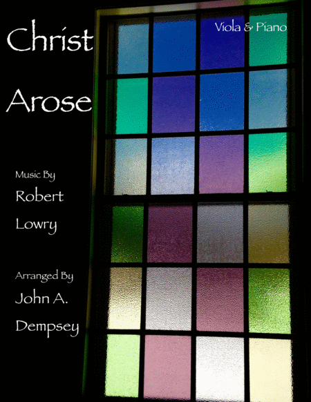 Christ Arose (Low in the Grave He Lay): Viola and Piano Duet
