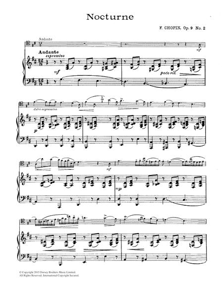 Nocturne, Op.9, No.2