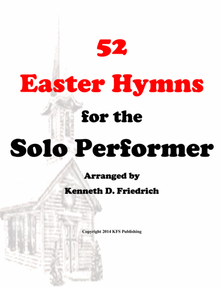 52 Easter Hymns for the Solo Performer - string bass