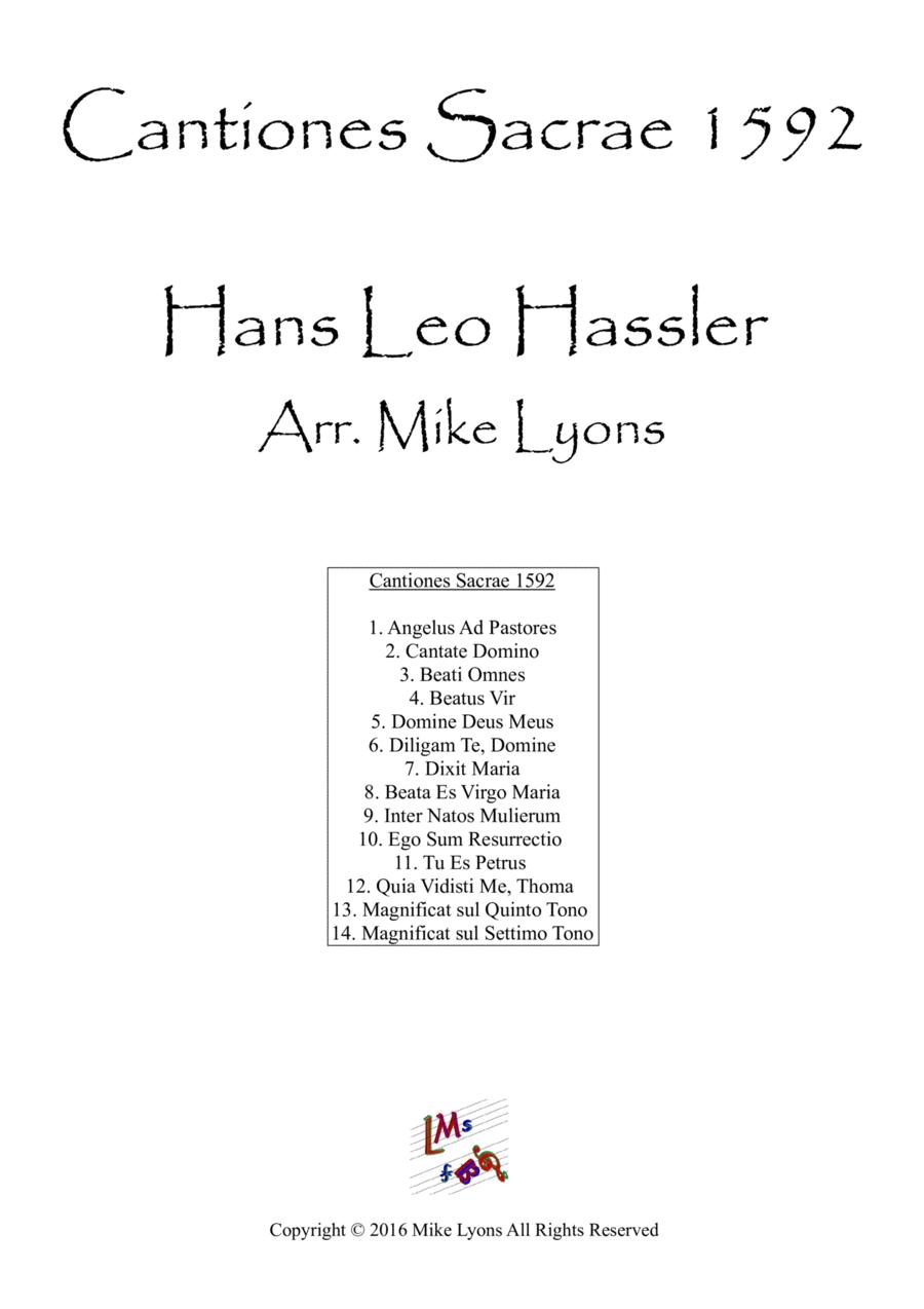 Cantiones Sacrae 1592 - Hans Leo Hassler (Brass Quartet)