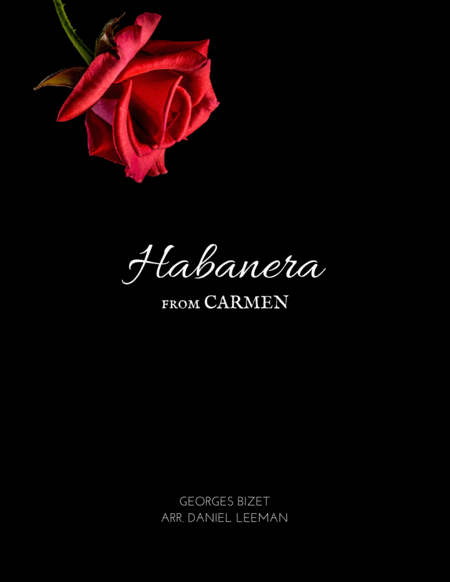 Habanera from Carmen for Alto Saxophone & Piano