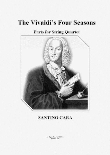 Vivaldi - The Four Seasons for String Quartet