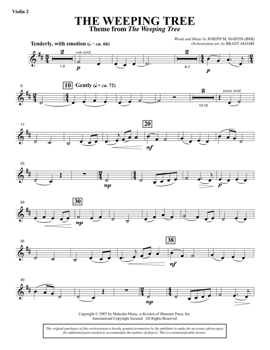 The Weeping Tree - Violin 2