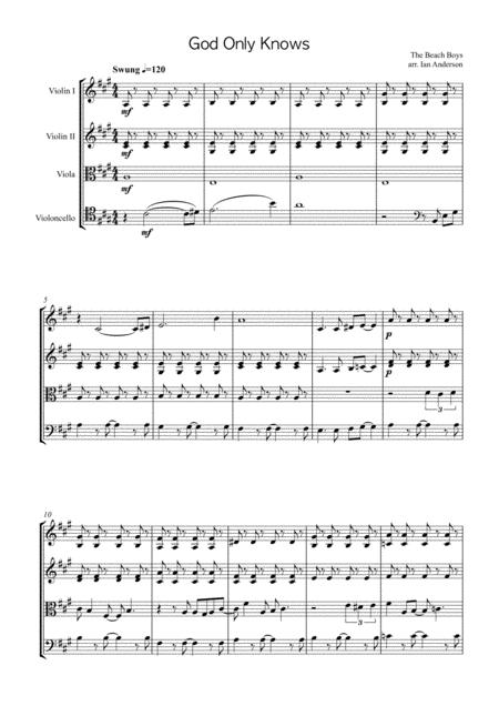God Only Knows (string quartet)