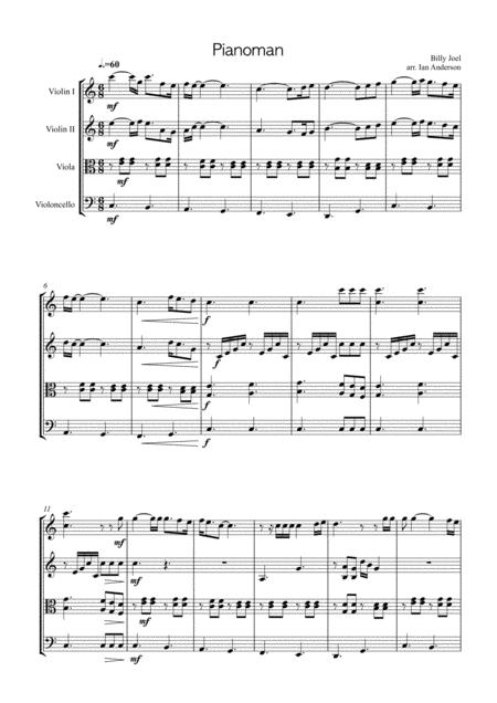 Piano Man (string quartet)