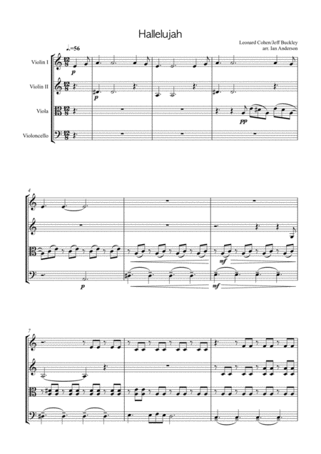Hallelujah (string quartet)