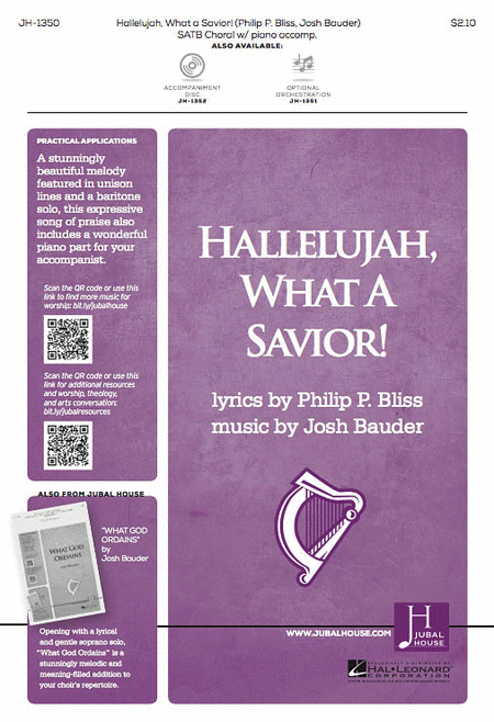 Hallelujah, What a Savior!