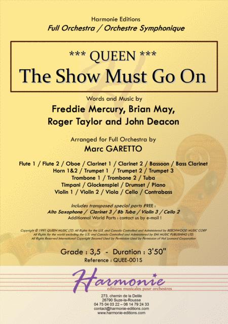 The Show Must Go On - QUEEN - Freddie Mercury FULL ORCHESTRA Arrangement