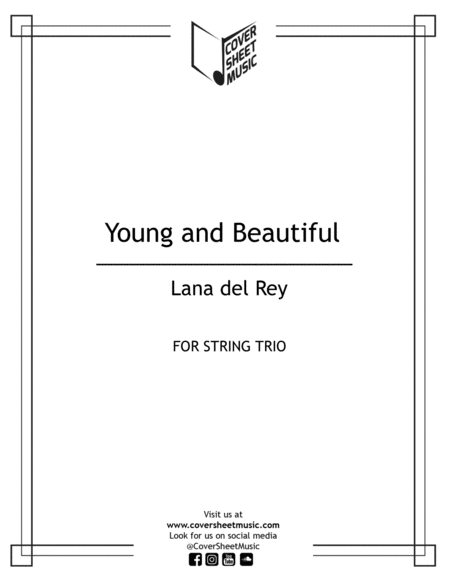 Young And Beautiful String Trio