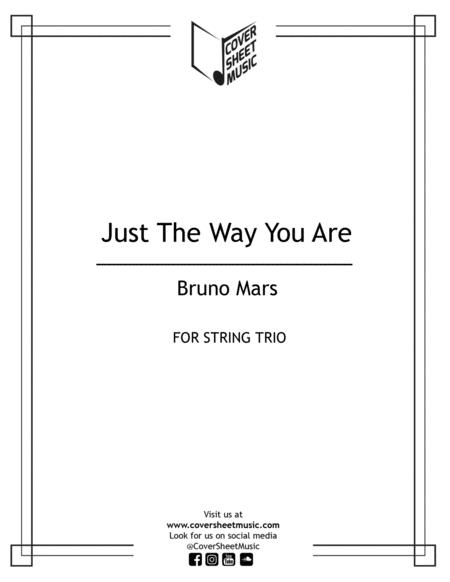 Just The Way You Are String Trio