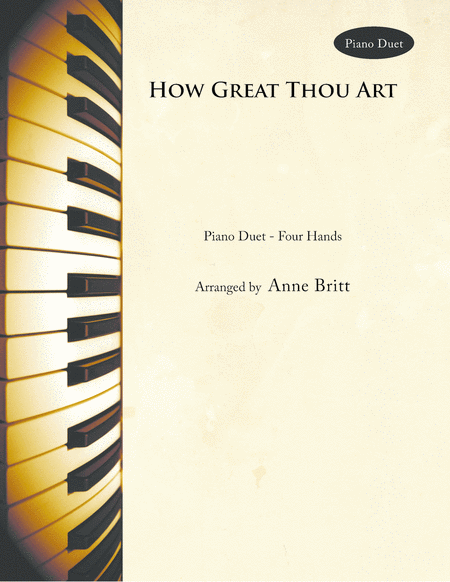 How Great Thou Art (piano duet)