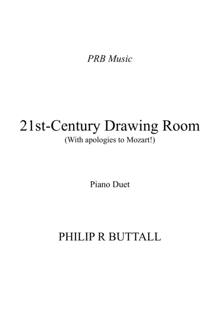 21st-Century Drawing Room (Piano Duet - Four Hands)