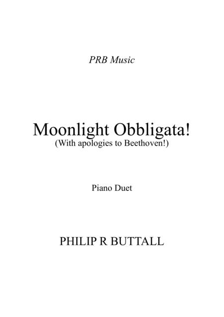 Moonlight Obbligata! (Piano Duet - Four Hands)