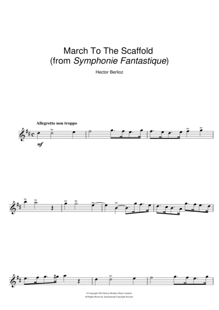 Symphonie Fantastique (4th Movement: March To The Scaffold)